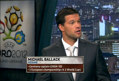 ballack Michael Ballack Makes ESPNs Analysis Must See TV
