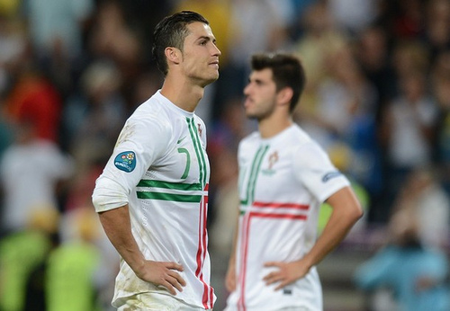 cristiano ronaldo1 Euro 2012 News: Cristiano Ronaldo Says Coach Told Him to Take Fifth Penalty
