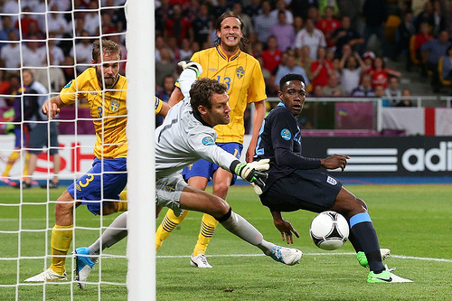 danny welbeck england Walcott Makes Case for England Start With Inspired Performance Against Sweden