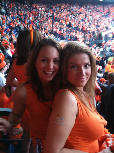 dutch female fans Netherlands vs Germany, Euro 2012: Open Thread