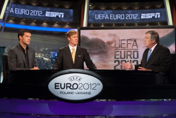 espn euro 2012 600x403 ESPNs Euro 2012 Viewer Numbers Up 82 Percent Compared to Euro 2008