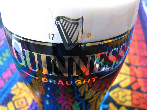 guinness pint Experiencing Euro 2012 at an Irish Pub in Main Street USA