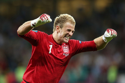 joe hart Euro 2012 News: Joe Hart Volunteers To Take Penalties for England, If Needed