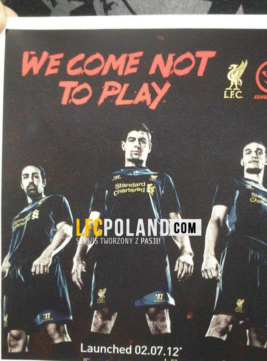 liverpool away shirt1 Liverpool Away Shirt for 2012 13 Season From Warrior, Leaked [PHOTO]