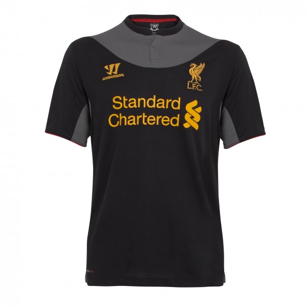 liverpool away shirt2 600x600 Liverpool Away Shirt for 2012 13 Season From Warrior, Official Pics [PHOTO]