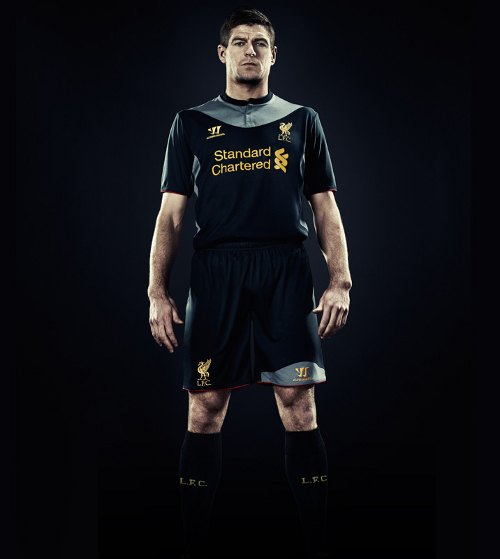 liverpool home shirt gerrard Liverpool Away Shirt for 2012 13 Season From Warrior, Official Pics [PHOTO]