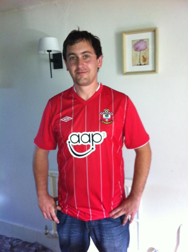 Southampton Unveils Home Shirt For 2012 13 Season, And I Hate It [PHOTO]