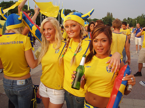 sweden fans Ukraine vs Sweden, Euro 2012: Open Thread