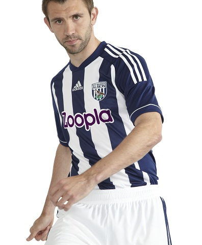 west brom home shirt West Bromwich Albion Home Shirt for 2012 13 Season [PHOTO]