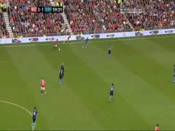 arsenal on tv 600x450 Should Arsenal Play A More Direct Style?