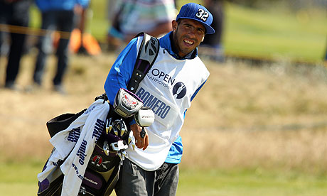 carlos tevez Carlos Tevez Caddies for Argentinian Golfer at British Open; Plus Todays Other EPL News