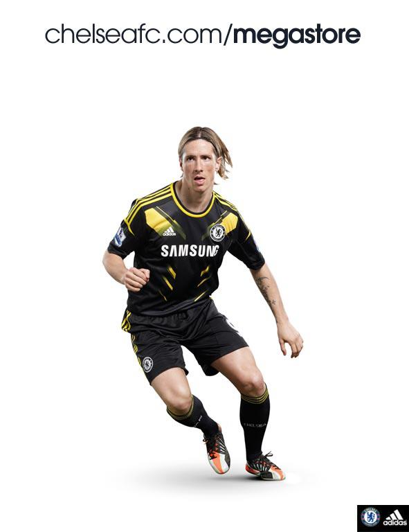 Chelsea Third Shirt for 2012 13 Season: Futuristic Design Is Out Of This World [PHOTO]