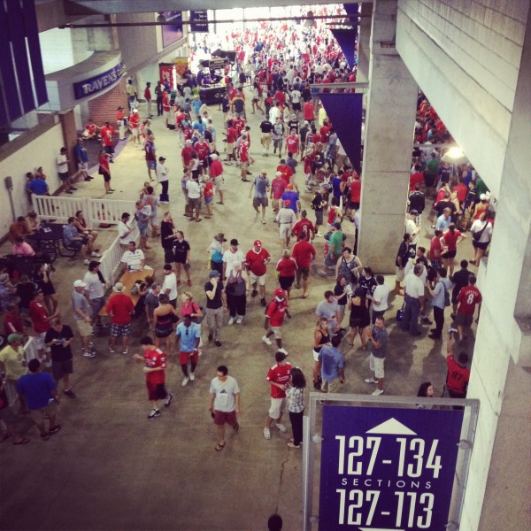concourse 600x600 Liverpool vs Tottenham Hotspur Friendly In Baltimore, In Pictures [PHOTO]