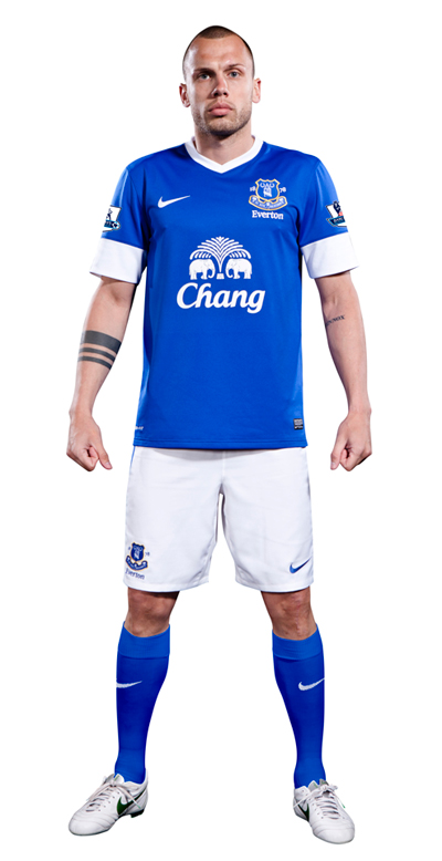 everton home shirt Everton Home Shirt for 2012 13 Season: Official Release [PHOTO]