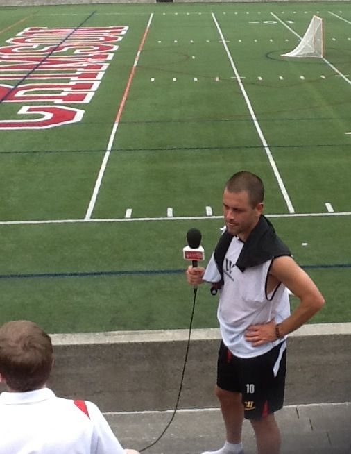 joe cole two Liverpool Footballers Meet The Media At Harvard University [PHOTO]