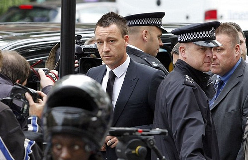 john terry1 John Terry Found Not Guilty of Racist Abuse; Plus Adebayor Signs With Spurs, and Liverpool Agrees Fee For Borini