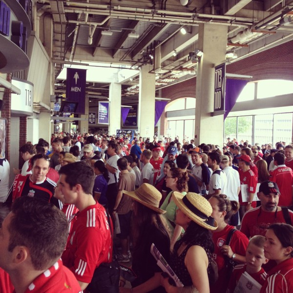 lfc fans concourse 600x600 Liverpool vs Tottenham Hotspur Friendly In Baltimore, In Pictures [PHOTO]