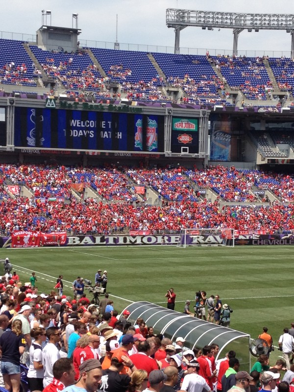 scoreboard by lfc 600x800 Liverpool vs Tottenham Hotspur Friendly In Baltimore, In Pictures [PHOTO]