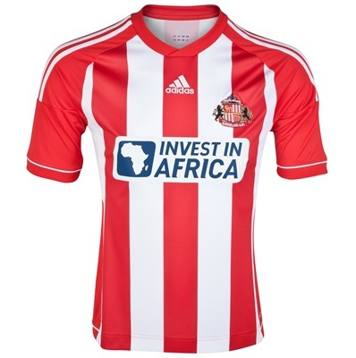 sunderland home shirt tiff Sunderland Home Shirt For 2012 13 Season Looks Like Stoke City [PHOTO]