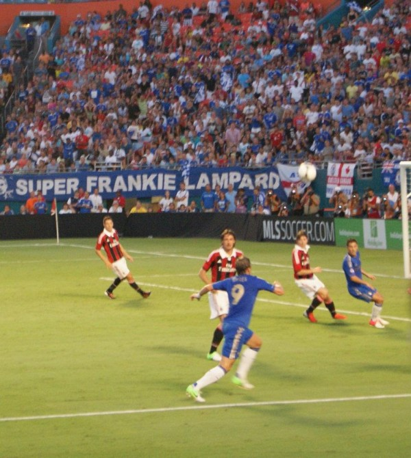 torres actionshot 600x669 Chelsea vs AC Milan Friendly In Miami, In Pictures [PHOTO]