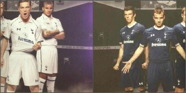 tottenham home away shirts Tottenham Hotspur Home and Away Shirts for 2012 13 Season; Under Armour Leak [PHOTO]