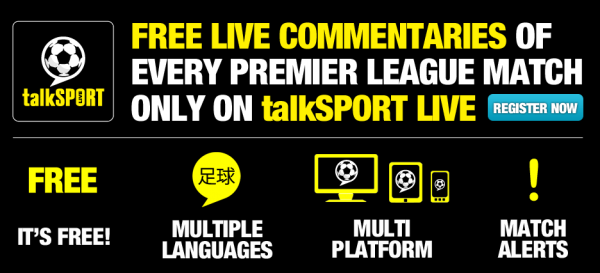 talksport live 600x273 talkSPORT Launches Free Commentary of Every Premier League Game for 2012 13 Season
