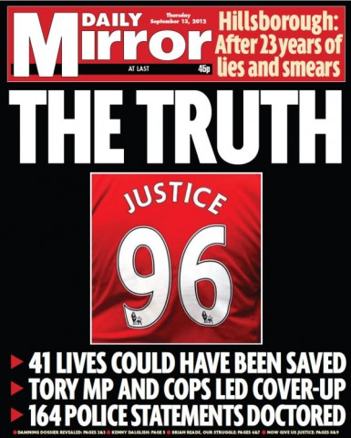 Hillsborough Report Prompts FA to Issue Full and Unreserved Apology: The Daily EPL