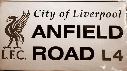anfield sign Liverpool vs West Bromwich Albion, Gameweek 26: Open Thread