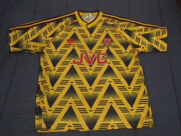 arsenal adidas away 600x450 Arsenal Set to Sign £25 Million Shirt Deal With Adidas; Fulham Deal Close Too: The Nightly EPL
