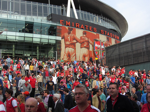 emirates stadium Arsenal Have Spent Only 1% of Their Available Cash Flow In The Transfer Market Since 2007