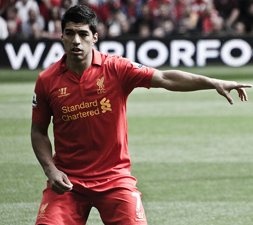 luis suarez1 Luis Suarez Worth £55million, Just Like Cavani, Insists Brendan Rodgers: Daily Soccer Report
