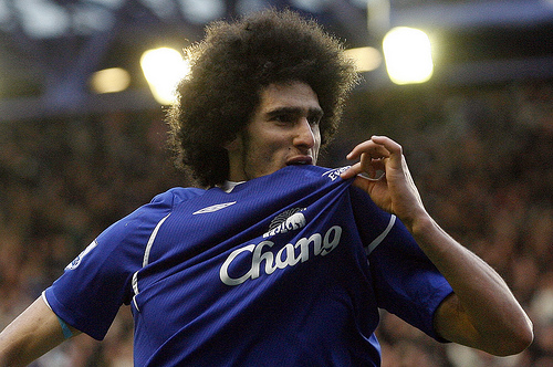 marouane fellaini Marouane Fellaini Ruled Out of Action for Three Weeks With Injury: The Daily EPL