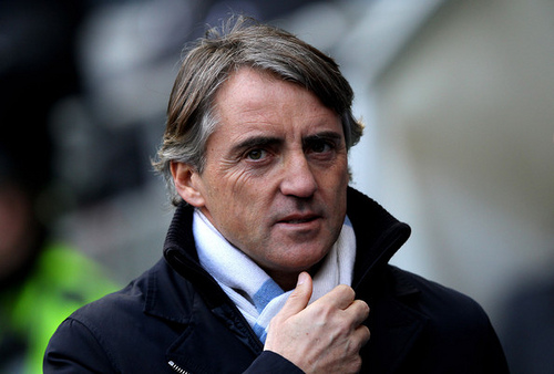 roberto mancini Mancini Accuses Man City Players of Complacency; Singles Out Joe Hart For Criticism: The Nightly EPL