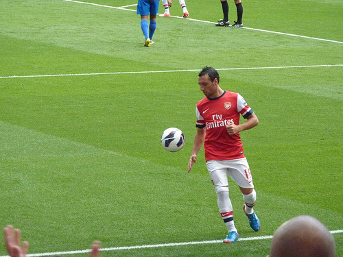 santi cazorla Santi Cazorla: Leaving La Liga and Joining Arsenal Has Helped Me Get Noticed in Spain: The Nightly EPL