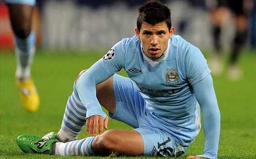 sergio aguero British Players Given Preferential Treatment by Referees Says Sergio Aguero: The Daily EPL