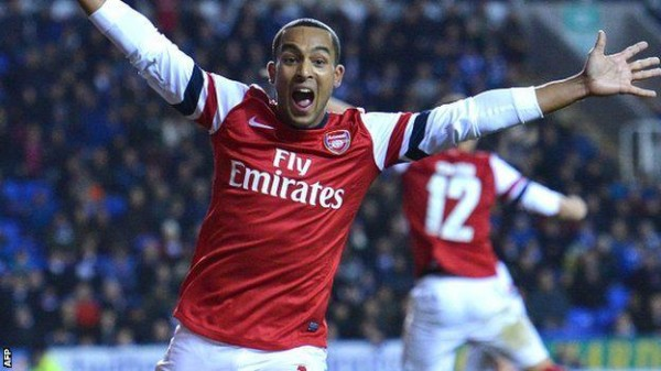 theo walcott 600x337 Like a New Signing: Arsenals Theo Walcott Shines as a Striker