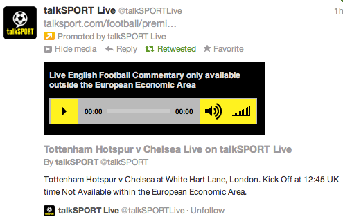 Screen Shot 2012 10 20 at 8.06.47 AM Tip for Supporters of Premier League Clubs Who Love Listening to Commentaries