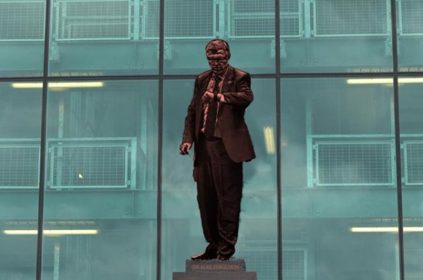 alex ferguson statue 600x398 Manchester United to Honor Sir Alex Ferguson With Old Trafford Statue: The Nightly EPL
