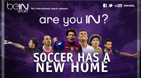 bein sport logo beIN SPORT to Be Distributed On Time Warner Cable and Bright House Networks