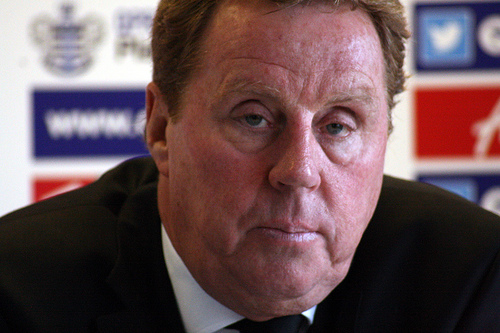 harry redknapp1 Harry Redknapp Says He May Not Spend in January If QPR Are Cut Adrift: The Nightly EPL