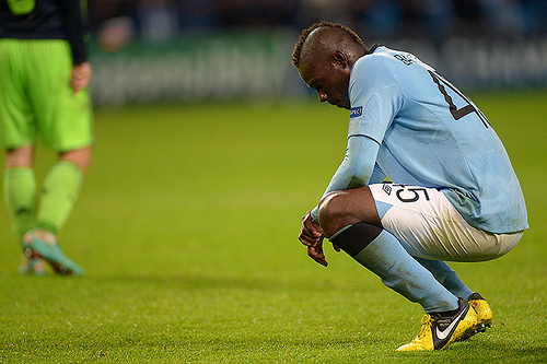 mario balotelli Roberto Mancini Sanctioned Charges Against Mario Balotelli: The Daily EPL