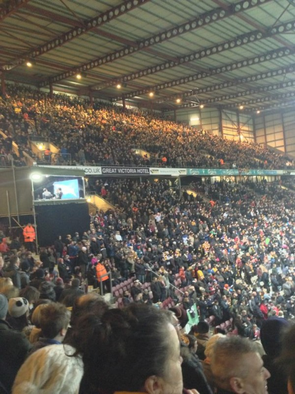 bradford sky sports 600x800 What the Matchday Experience Was Like At Bradford against Arsenal