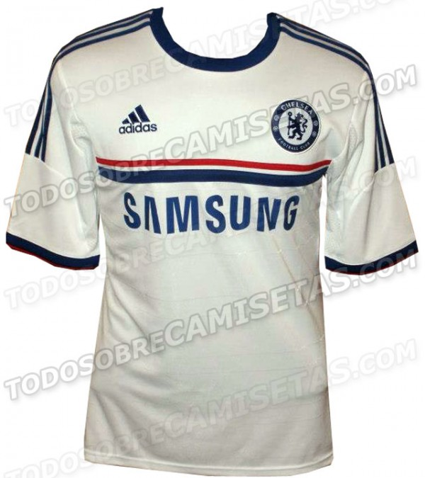 chelsea away shirt front 600x675 Chelsea Away Shirt for 2013 14 Season Leaked [PHOTOS]