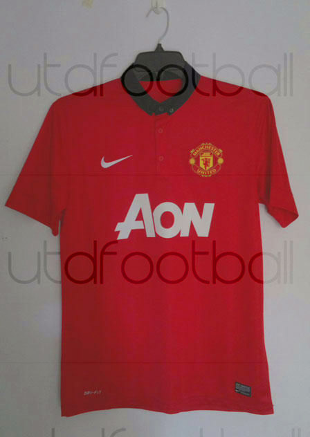 man utd new home shirt 2006/2007 New Man United Kit
