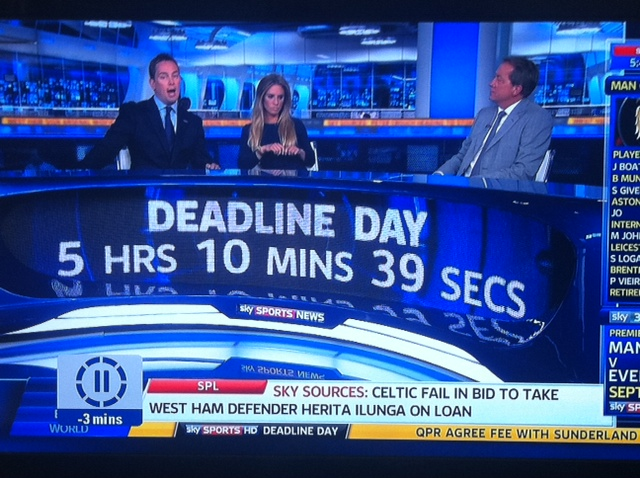 sky sports transfer window Sky Sports Transfer Deadline Day Program Will Not Be Televised In United States