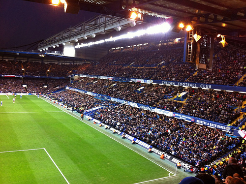 chelsea east stand Chelsea Break Tottenhams Hearts By Signing Willian Subject to Work Permit