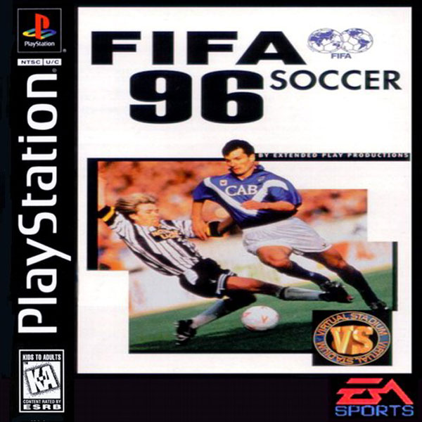 fifa 96 cover FIFA 96: Take A Walk Down Memory Lane to See Gameplay Of FIFA Video Game [VIDEO]