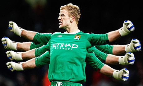 joe hart octopus Putting the Robin van Persie One Man Team Argument to Rest
