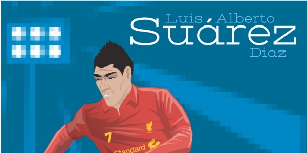 luis suarez illustration mini Luis Suárez Could Face FIFA Ban After Appearing to Punch Chile Defender: The Daily EPL