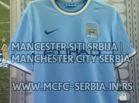 manchester city new home shirt Manchester City Home Shirt for 2013 14 Season Leaked [PHOTO]